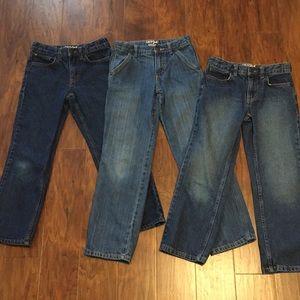 Cat and Jack Jeans Bundle size 8